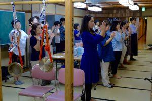 練習前拝礼