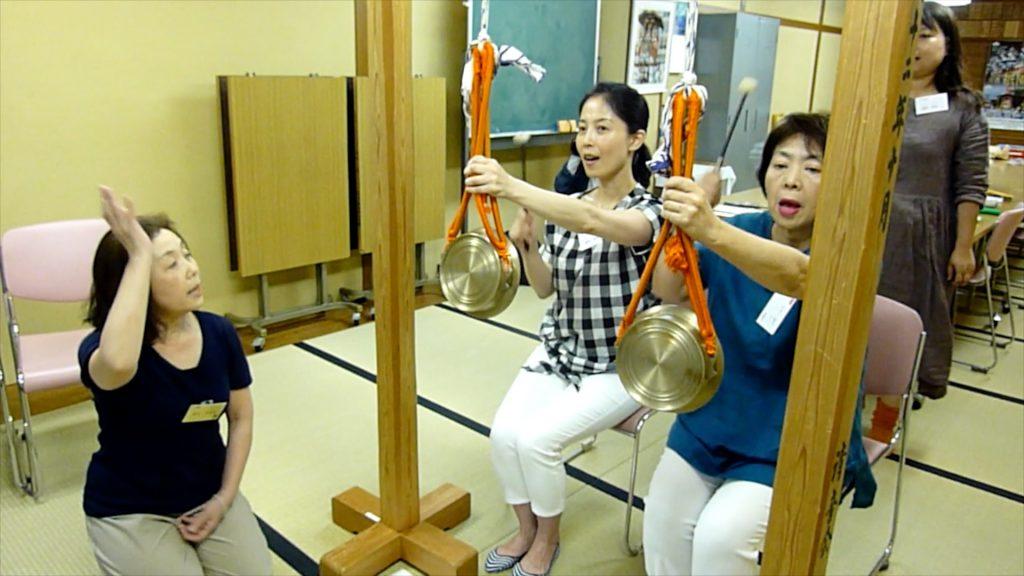 平成女鉾清音会お囃子練習