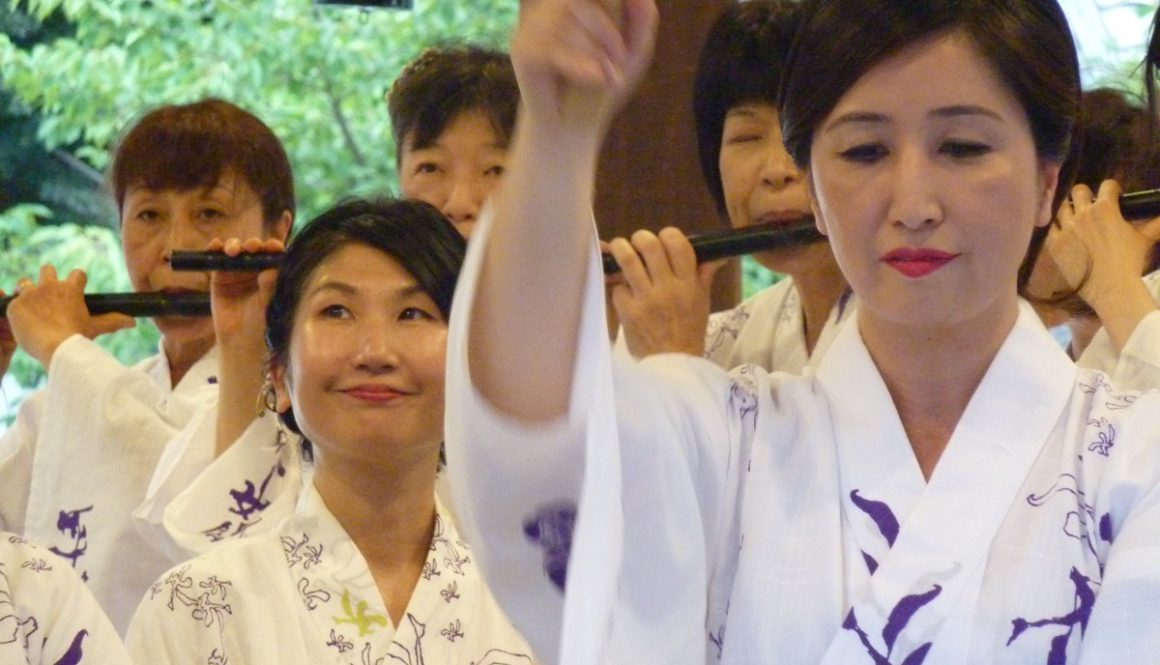 八坂神社祇園囃子奉納